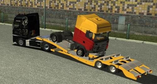 Unfall-Scania