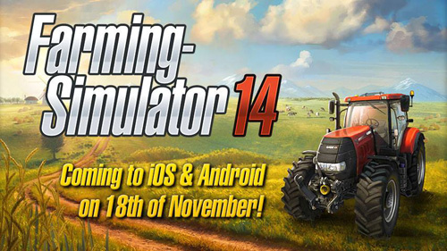 Coming to Farming Simulator 14