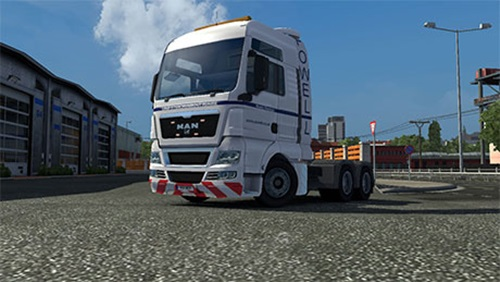 Man TGX POWELL Heavy Haulage Skin