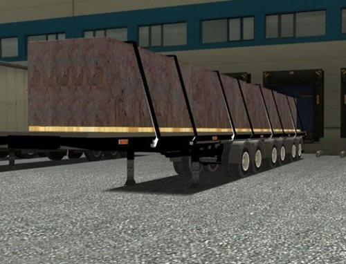 6 Axle Marble Trailer German Truck Simulator Mods Gts Trailers Download