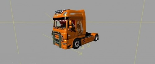 DAF XF 105 Super Space Farming Simulator 2011 Mods Trucks And Cars Download