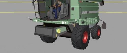 Fendt 5220E Combine Farming Simulator 2011 Mods Ls2011 Combines Download