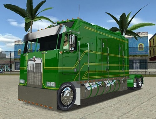 Kenworth-K100-Long-Frame