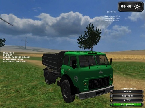 MAZ 5549 Farming Simulator 2011 Mods Trucks And Cars Download