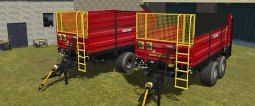 Metal Fach N-2671 Trailer Farming Simulator 2011 Mods Trailers Download