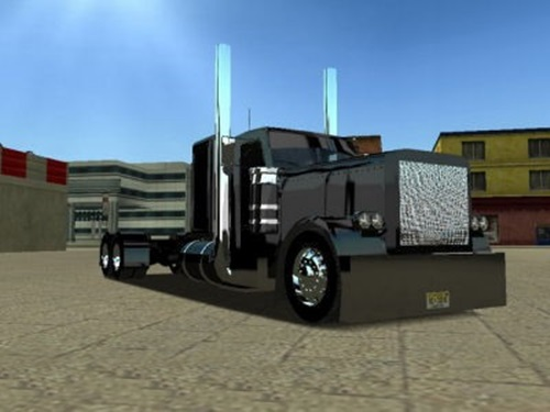Peterbilt-with-350-Wheelbase