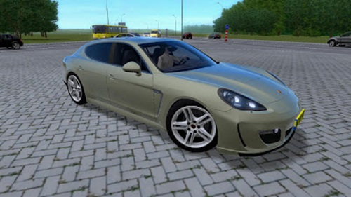 Porsche Panamera Turbo – 1.3 City Car Driving Simulator City Car Driving Car Mods