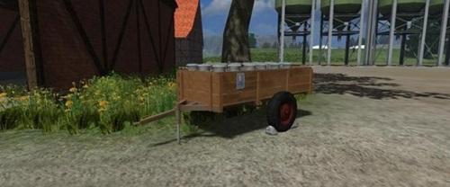 Retro-Milchwagen-V-1