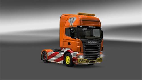 Scania Heavy Transport skin v 1.0