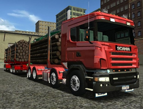 Scania Logger Truck