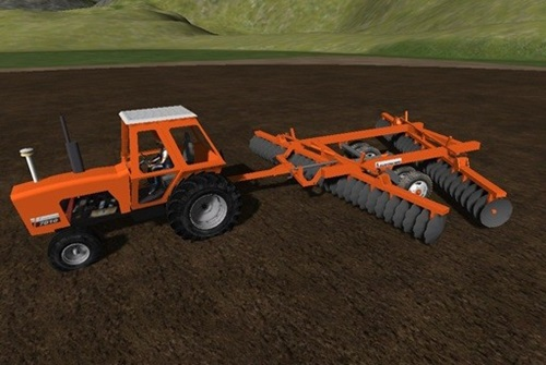 Allis Chalmers Offset Disk Harrow Farming Simulator 2011 Mods Ls2011 Implements Tools Download