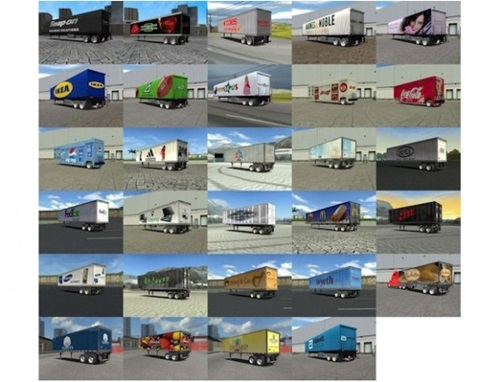 Arctic Wolf 54 Trailer 18 Wos Haulin Mods Trailers 18 Wheels Of Steel Haulin