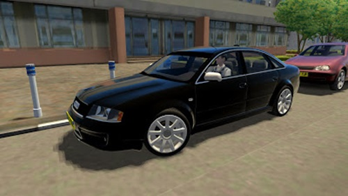 Audi RS6 2003 – 1.2.5 City Car Driving Simulator City Car Driving Car Mods