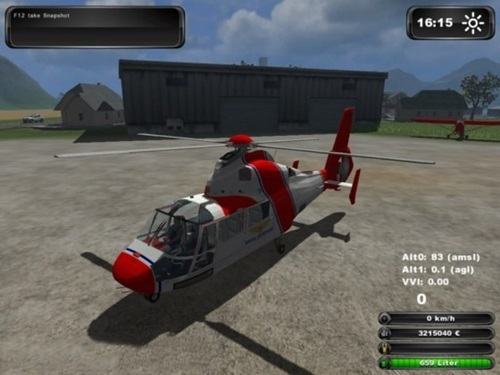 Eurocopter AS365 Farming Simulator 2011 Mods Ls2011 Other Mods