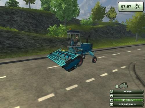 Fortschritt-E302-Combine__Cultivator
