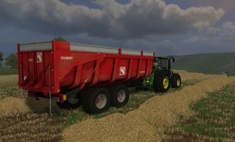 Gilibert 1800 Pro Trailer Farming Simulator 2011 Mods Trailers Download