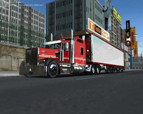 Kenworth W900l Truck 18 Wos Haulin Mods 18 Wos Haulin Trucks Download Mods