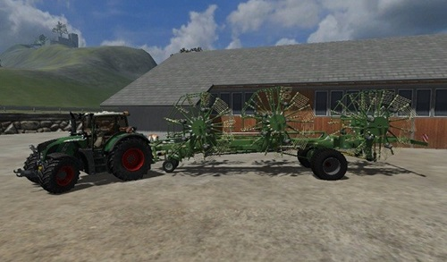 Krone Swadro 2000 Farming Simulator 2011 Mods Ls2011 Implements Tools Download