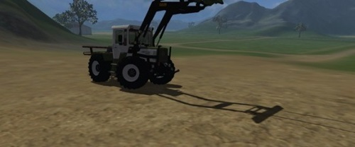 MB Trac 1000 Fl Farming Simulator 2011 Mods Tractors Download