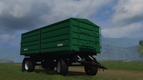 Reisch RD 180 Trailer Farming Simulator 2011 Mods Trailers Download