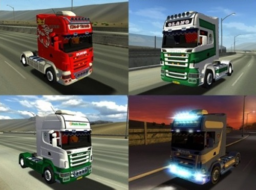 Scania R580 Skin 18 Wos Haulin Mods Skin 18 Wheels Of Steel Haulin