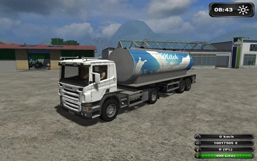 Scania Milk Truck Farming Simulator 2011 Mods Trucks And Cars Download