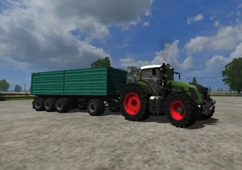 Brantner VD38080 Trailer Farming Simulator 2011 Mods Trailers Download