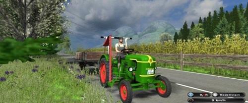 Deutz D 25 Tractor Farming Simulator 2011 Mods Tractors Download