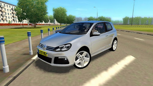 Volkswagen Golf R – 1.2.5 City Car Driving Simulator City Car Driving Car Mods