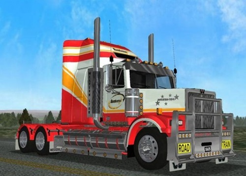 Western Star Road Train Truck 18 Wos Haulin Mods 18 Wos Haulin Trucks Download Mods
