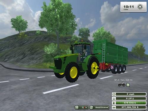 John Deere 8345R Rowcrop Tractor