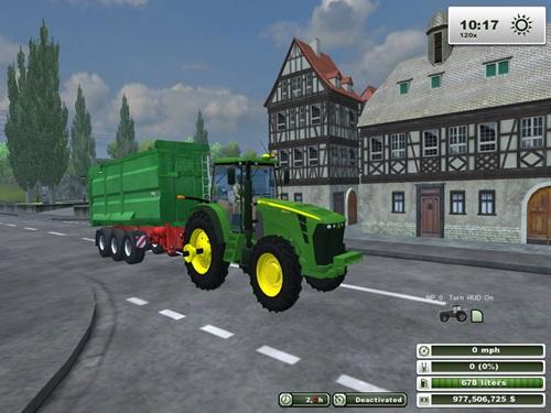 John Deere 8345R Rowcrop Tractor2