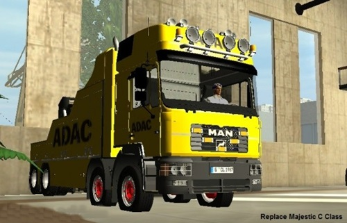 MAN Abschlepp Service Truck