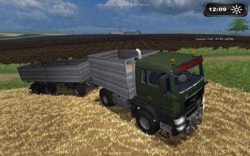 MAN TGS Agrar BK Truck