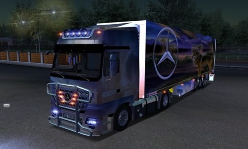 Mercedes-Actros-Airbrush