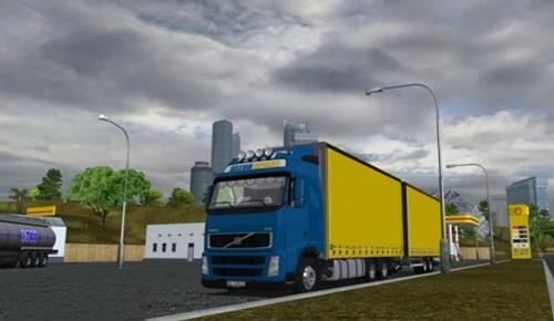Volvo-FH12-Globetrotter-Tandem