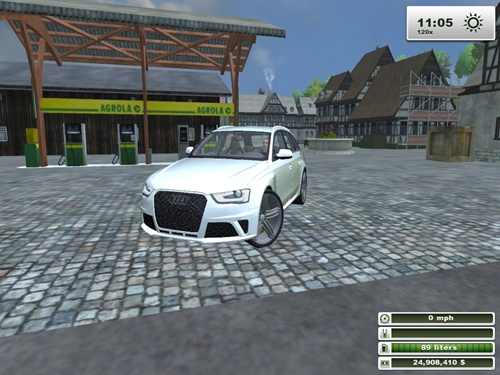 Audi Allroad White Car