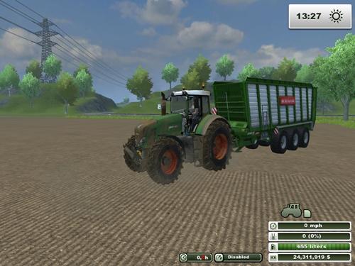 Fendt Vario 939 Dirt Tractor