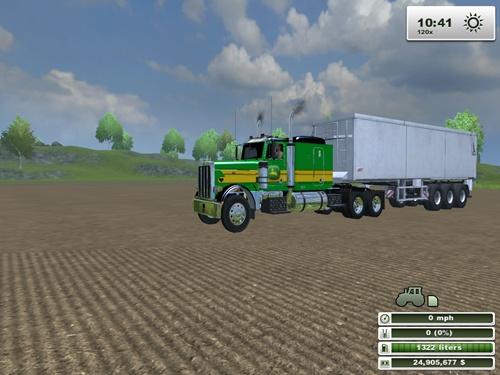Peterbilt-379-John-Deere-Truck