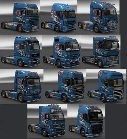 World Of Truck Skin Pack Ets2 Mods Ets2 Skins Download