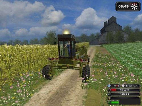 Fortschritt E 303 Combine Farming Simulator 2011 Mods Ls2011 Combines Download