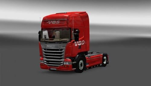 Scania Vos Deventer Holland Skin