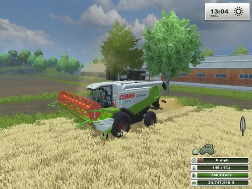 CLAAS Lexion 540 Harvester Pack