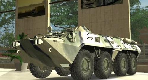 Panzer BTR 80