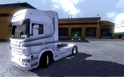Scania Nils Hansson Skin