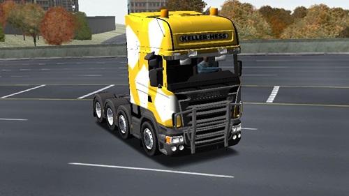 Scania R580 HD