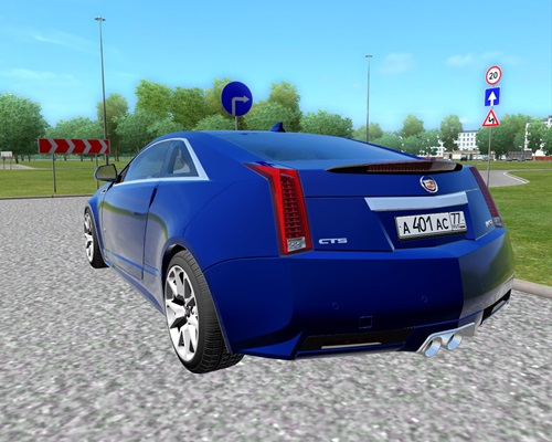 Cadillac CTS-V Coupe3