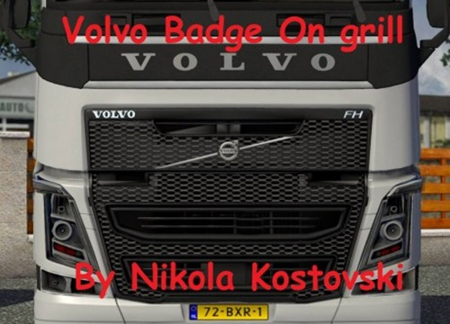 Volvo Badge on Grill Tuning Mod