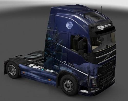Volvo-FH-2012-Winter-Wolves-Skin-1