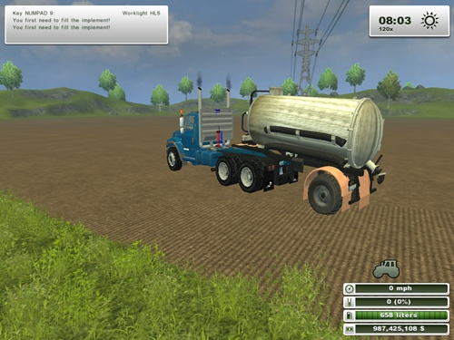 HLS Liquid Manure Trailer v 1.02